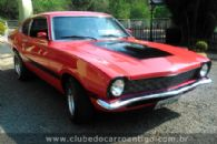Carros Antigos - Ford, Maverick, Super, 1974, Vermelho - Publicado em: 29/3/2017