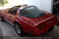 Carros Antigos - Chevrolet, Corvette, L 48 Semi Conversível, 1979, Vermelho - Publicado em: 5/5/2017