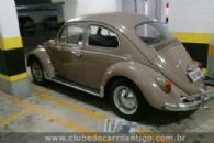 Carros Antigos - Volkswagen, Fusca, 1.300, 1968, Bege - Publicado em: 28/3/2018