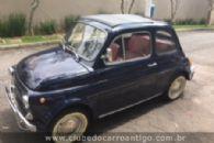 Carros Antigos - Fiat, 500 L, Berlina, 1972, Azul - Publicado em: 26/4/2018