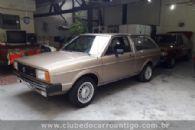 Carros Antigos - Volkswagen, Parati, LS, 1983, Bege - Publicado em: 23/7/2018