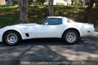 Carros Antigos - Chevrolet, Corvette, C3, 1981, Branca - Publicado em: 16/4/2019