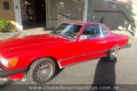 Carros Antigos - Mercedes Benz, 560 Sl, , 1988, Vermelha - Publicado em: 23/3/2020