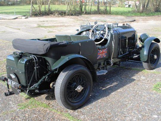 Bentley de 1931 é leiloado